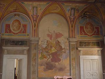 Villa corsi salviati detail 23 for Villa maria college interior design